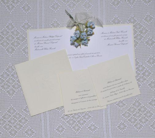 faire-part mariage Albâtre