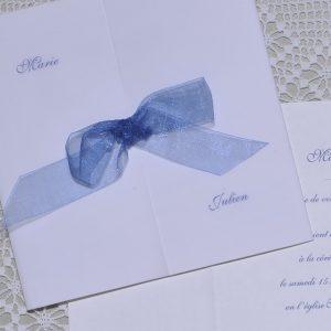 détail faire-part mariage Nuage