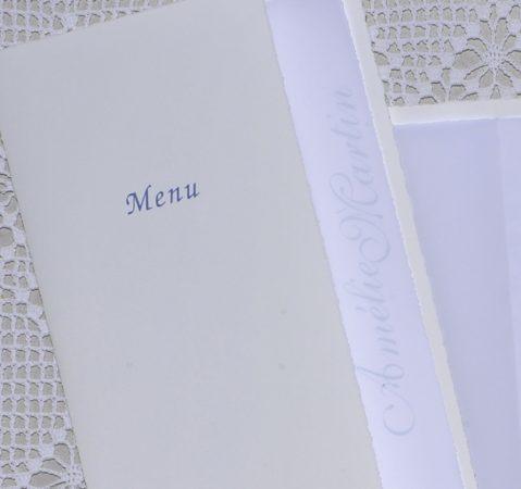 détail couverture menu Moustiers