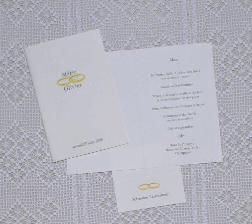 menu Venise