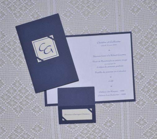 menu Versailles