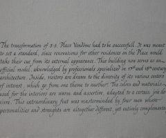 calligraphie de livre photos souvenir