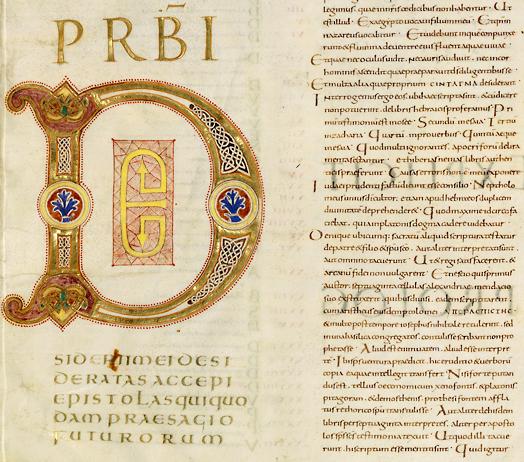 écriture latine capitale romaine onciale et minuscule caroline