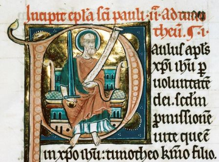 écriture gothique bible Reims