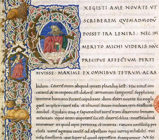 écriture latine humanistique