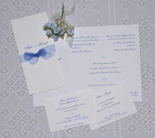 faire-part mariage Azur