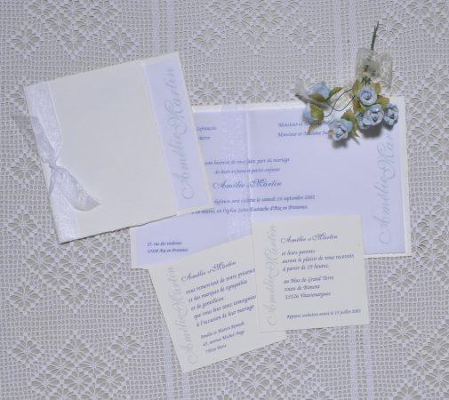 faire-part mariage Delft