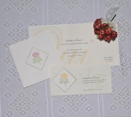 faire-part mariage Garance