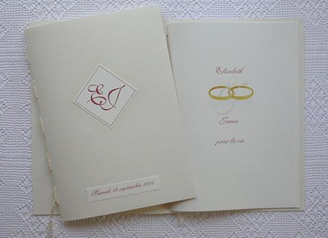 livre d'or amarante