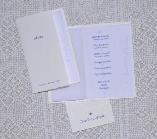 menu Moustiers