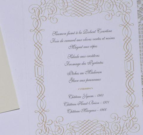 détail intérieur menu Nevers