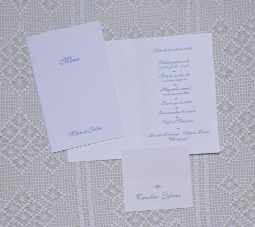 menu Valence