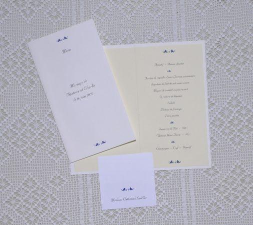 menu Vauvenargues